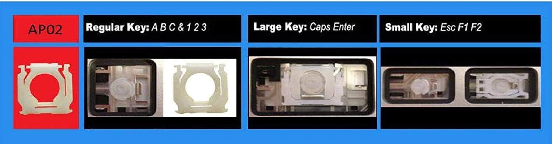 TellusRem Kompatibel Tastenkappen-Sets mit MacBook Pro Retina 13.3 A1425 A1502 MacBook Pro Retina 15.4 A1398 UK