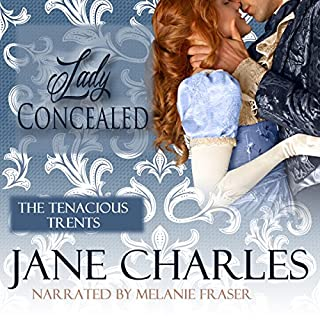 Lady Concealed audiobook cover art