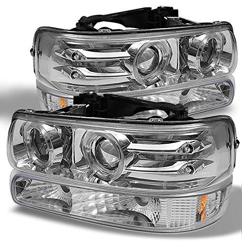 02 tahoe chrome headlights - 7