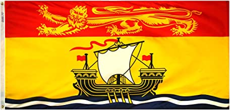 product image for Annin Flagmakers Model 220175 New Brunswick Canadian Province (Territory) Flag 3x6 ft. Nylon SolarGuard Nyl-Glo 100% Made in USA