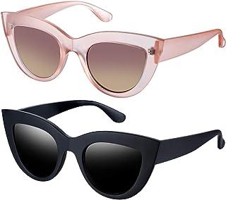 681bb80fb400 Joopin Retro Polarized Cateye Sunglasses - Women Vintage Cat Eye Sun Glasses  UV400 Protection E8022