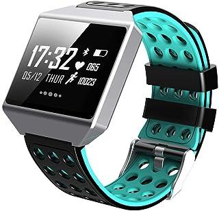 0.96 Pulgadas Fitness Trackers Smart Band Calorie (Color: Azul)