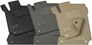 Mercedes-Benz OEM All Weather Season Floor Mats 2003 to 2009 CLK-Class Coupe (Color:Grey)