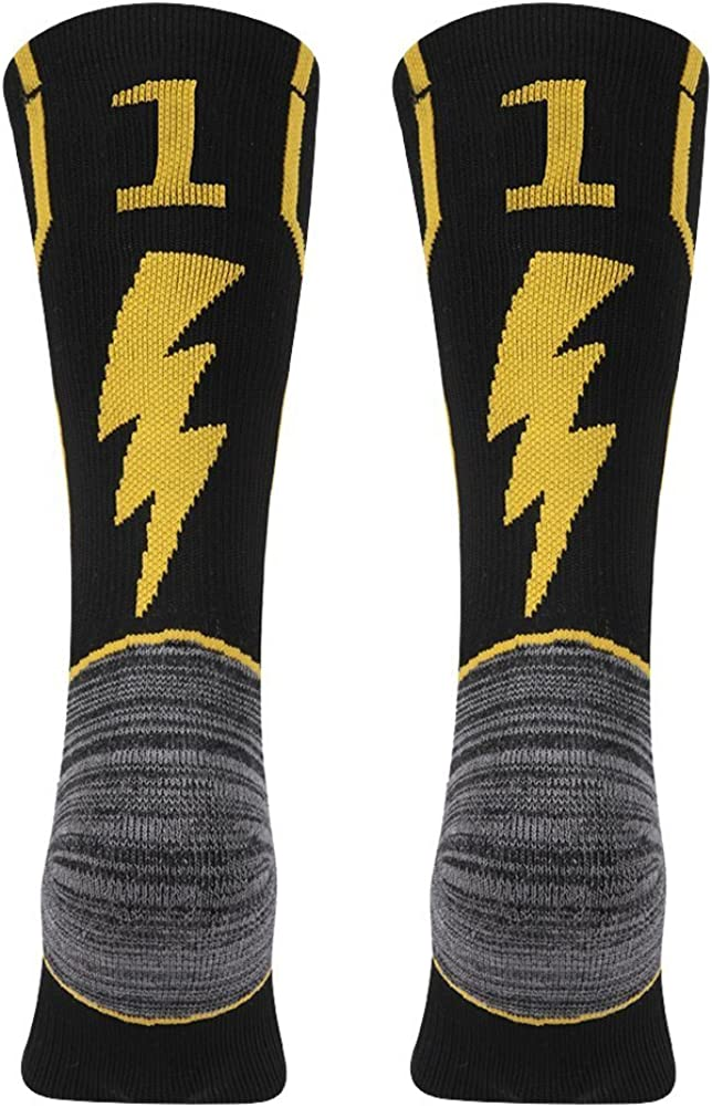 KitNSox Adult Youth Max 62% OFF Mid Calf Cushion Sports fo Number Team NEW before selling Socks