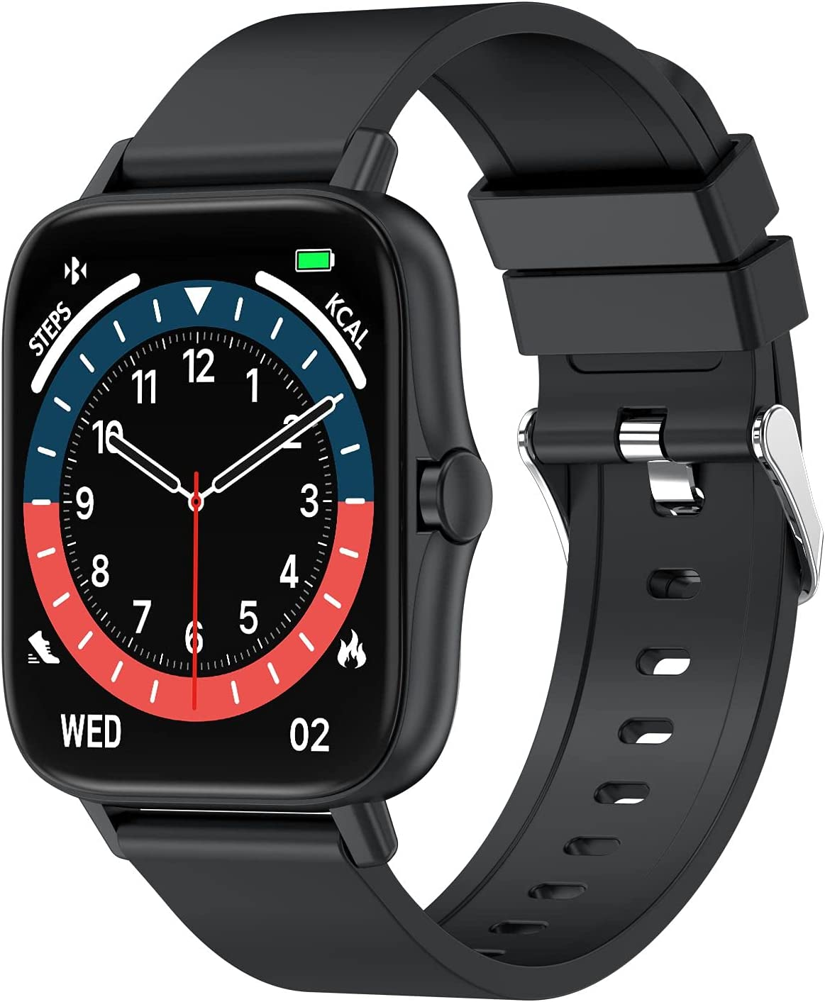 TENNOVO T42 Smart Watch with Bluetooth Pre Blood Call 5 ☆ Safety and trust popular Heart Rate