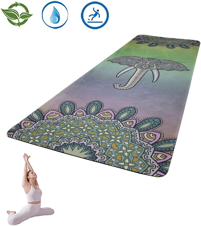Rutschfest Yogamatte, Gymnastikmatte, für Yoga Fitness Pilates & Gymnastik, 183x61x0,5cm