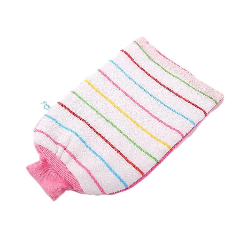 順番パラダイス多数のあかすりミトン 浴用手袋 ウォッシュスキンスパ泡風呂手袋 マッサージ ボディウォッシュ手袋 バス用品 入浴 グッズ LissomPlume