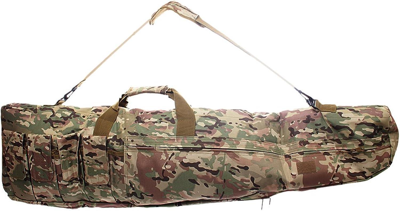 MagiDeal 1M 1.2M Nylon Multifunction 4Layer Fishing Rod Bag Fishing Tackle Storage Bag Holdall Shoulder Bag
