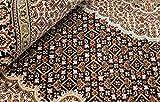 Nain Trading Indo Täbriz 202x140 Orientteppich Teppich Beige/Dunkelbraun Handgeknüpft Indien - 3