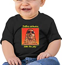 Stevie Wonder Baby T Shirt 100% Cotton Band Graphic Vintage Tops