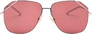 Fendi Men's FFM0043S0104S Red Metal Sunglasses