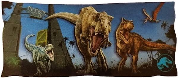 行货侏罗纪世界恐龙身体枕套