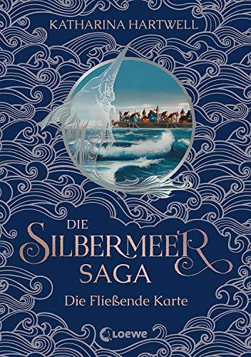 Die Silbermeer-Saga - Die Fließende Karte: Zweiter Band des bildgewaltigen Nordic-Fantasy-Epos (German Edition)