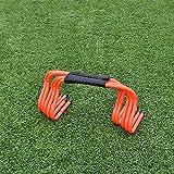 xin 5 PCS Agilidad Hurdle, Velocidad obstáculos de Velocidad Agilidad de la Velocidad Tarifas para el fútbol, fútbol o Equipo de Entrenamiento pliométrico (Size : 23cm)