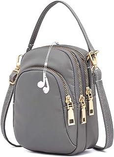 COAFIT Shoulder Bag All-Match Crossbody Bag Handbag with Earphone Hole