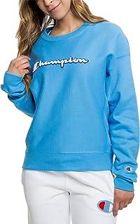 Champion Sweatshirts Chenille Crew Active Blue M