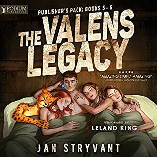The Valens Legacy: Publisher's Pack 3                   Auteur(s):                                                                                                                                 Jan Stryvant                               Narrateur(s):                                                                                                                                 Leland King                      Durée: 14 h et 34 min     9 évaluations     Au global 4,6