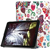 for Acer Chromebook Tab 10 9.7 inch Tablet Cover, Ultra Slim Folio Stand Lightweight Leather Case for Acer Chromebook Tab 10 D651N 9.7' (Color Butterfly)