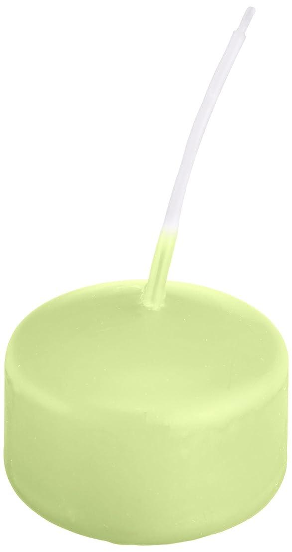 余暇とても多くのストラトフォードオンエイボンキャンドル ハッピープール(カラーアトリエ) 「 ホワイトグリーン 」 24個入り 72800000WG