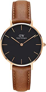 Daniel Wellington Women's Analogue Quartz Watch with Leather Strap DW00100166