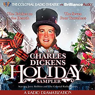 A Charles Dickens Holiday Sampler audiobook cover art