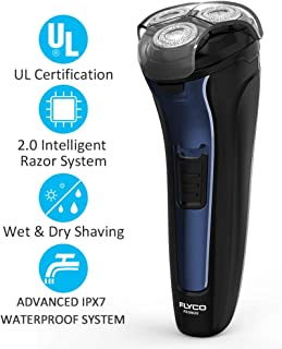 Electric Razor for Men,FLYCO Electric Shavers 2 in 1 Mens Wet & Dry Electric Razors for Shaving...