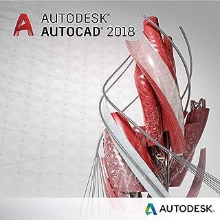 AutoCAD 2018 for Windows | 3 Year Digital License & Copy