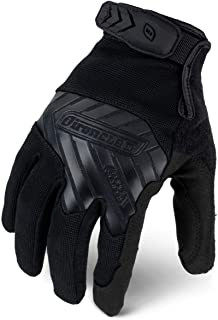 Ironclad Command Tactical Pro, Touch Screen Gloves Conductive Palm & Fingers, Suggested Uses For Military, Law Enforcement, Airsoft, Paintball, Machine Washable, Sized S, M, L, XL, XXL (1 Pair)
