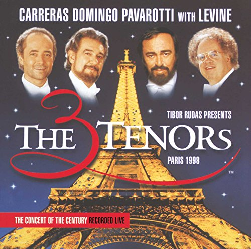The Three Tenors (Domingo, Pavarotti, Carreras Live In Paris 1998)