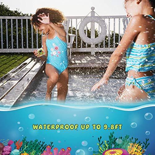 Vmotal Kids Digital Camera, Waterproof Camera 8MP Waterproof Digital Camera for Kids Children Boys Girls Gift with 2.0 inch TFT Display(Blue)