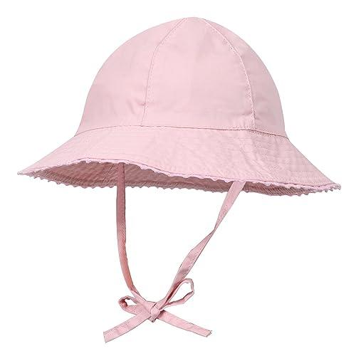 CANSHOW Bébé Bonnet Fille Été Très Mignon Protection Soleil Coton Chapeau (2 -3 Ans 277bbc24962