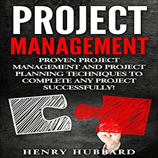 Project Management audiobook cover art
