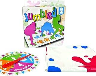 Zinniaya Juego de mesa para adultos Body Twist Music Twister Juego de accesorios Fiesta multijugador Juego interactivo de padres e hijos Juguete