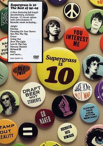 Supergrass - Supergrass is 10: The Best of 94 - 04 [2 DVDs]