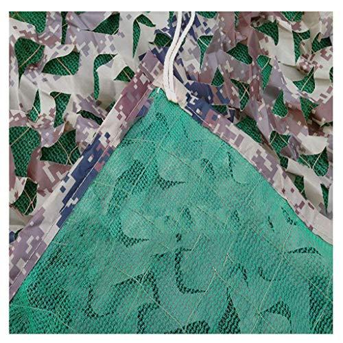 MTCGH Shade Polivalente Al Aire Libre Al Aire Libre Del Encerado-Net Green Net Shade, la Cubierta Del Coche Toldo Que Acampa Sombrilla Selva Sombra Neto de Varios Tamaños Opcional Camo Net,2 * 3M,2 *
