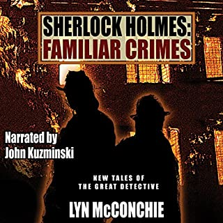 Sherlock Holmes: Familiar Crimes audiobook cover art