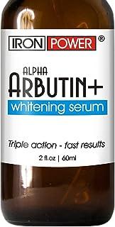 Alpha Arbutin+ Whitening Serum - Lighter Skin in 30 days - Natural Lightening, Brightening Hyperpigmentation Treatment - F...