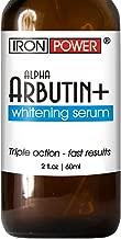 Alpha Arbutin+ Whitening Serum - Lighter Skin in 30 days - Natural Lightening, Brightening Hyperpigmentation Treatment - Fade Freckles, Melasma, Age & Dark Spots –Whitener, Lightener, Brightener Cream