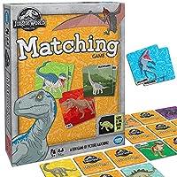 Wonder Forge ジュラシックワールド マッチングゲーム 3歳以上の男の子&女の子用 - 楽しく素早く遊べる恐竜メモリーゲーム