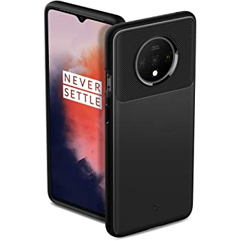 Caseology Vault for OnePlus 7T Case (2019) - Matte Black