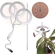 YYBBJH Plantenlamp, led, volledig spectrum plantenlamp met automatische timer, led-plantenlicht, groeilamp, groeilamp, lam...