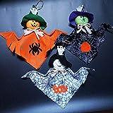 FJX 3pcs de Halloween Colgante Fantasma Colgante Se Aplica a la Guardería Centros Comerciales Barra Del Club Nocturno Ninos