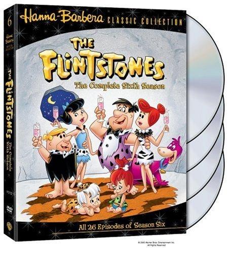 FLINTSTONES: THE COMPLETE SIXTH SEASON - FLINTSTONES: THE COMPLETE SIXTH SEASON (4 DVD)