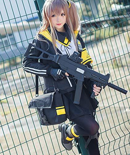 【ミドリ屋】UMP45 サブマシンガン 衣装 コスプレ用衣装 cosplay オーダーサイズ コスプレ コスチューム 仮装 女性L