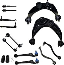 Detroit Axle - New 14 Piece Front Upper and Lower Control Arm (Forward and Rearward facing) Suspension Kit for 2003-2007 Mazda 6 + [06-07 Ford Fusion FWD] + 06-07 Milan FWD