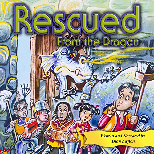 Rescued from the Dragon audiobook cover art