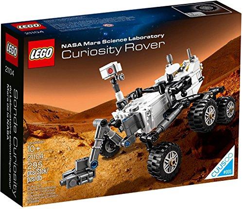 LEGO NASA Mars Science Laboratory Curiosity Rover CUUSOO 21104