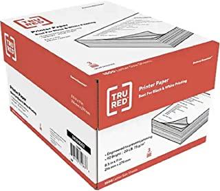 TRU RED 8.5 x 11 Printer Paper, 20 lbs, 92