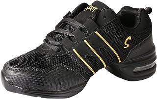 Free Fisher Zapatos de Danza Baile de Tango Jazz Hip Hop Zapatos Deportivos para Mujer