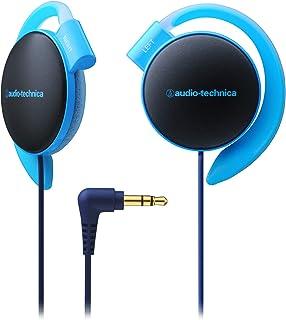 audio-technica イヤフィットヘッドホン 耳掛け ブルー ATH-EQ500 BL